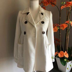 Cream colored TRENDY jacket
